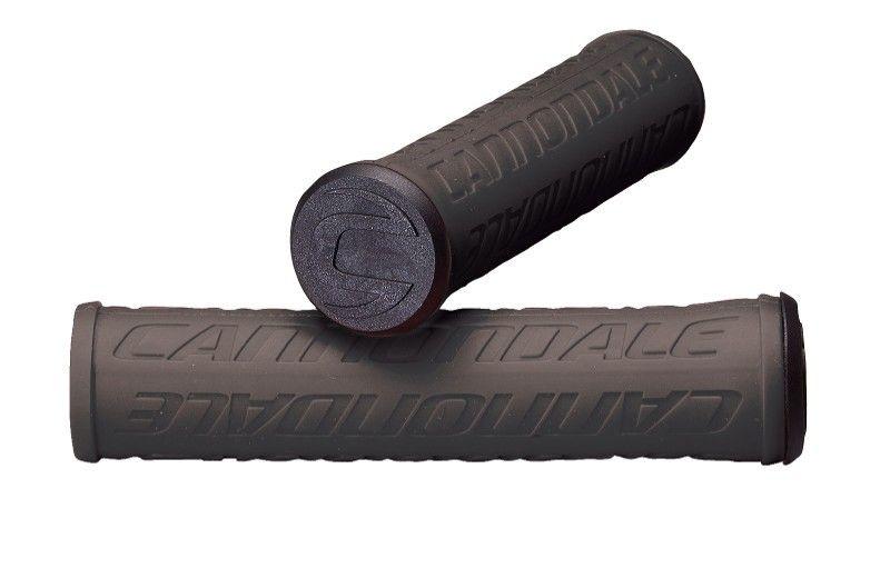 Poignées Cannondale Silicone Logo Noir