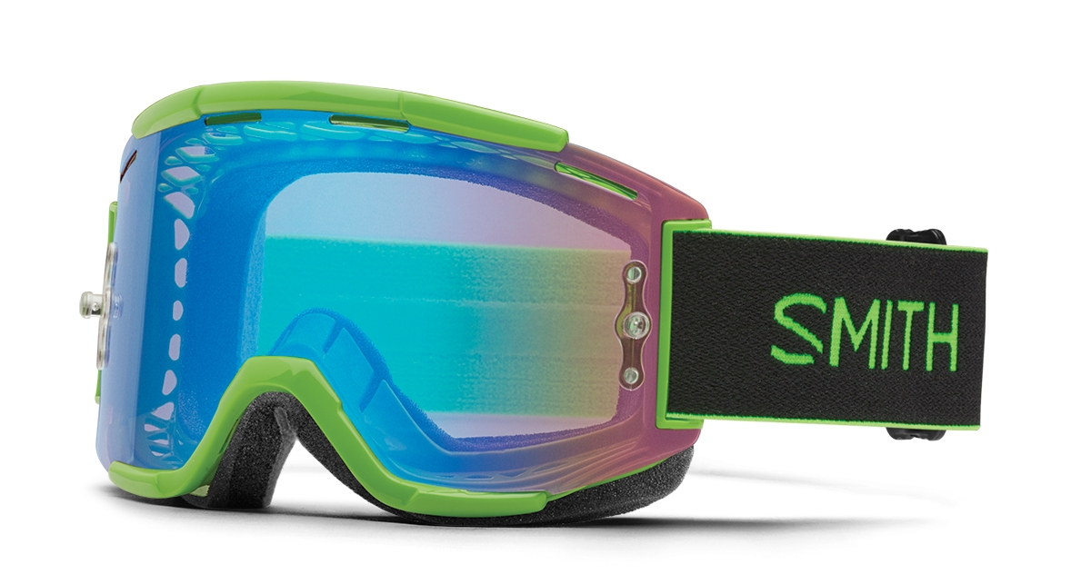 Masque Smith Optics Squad MTB Black ChromaPop Contrast Rose Flash