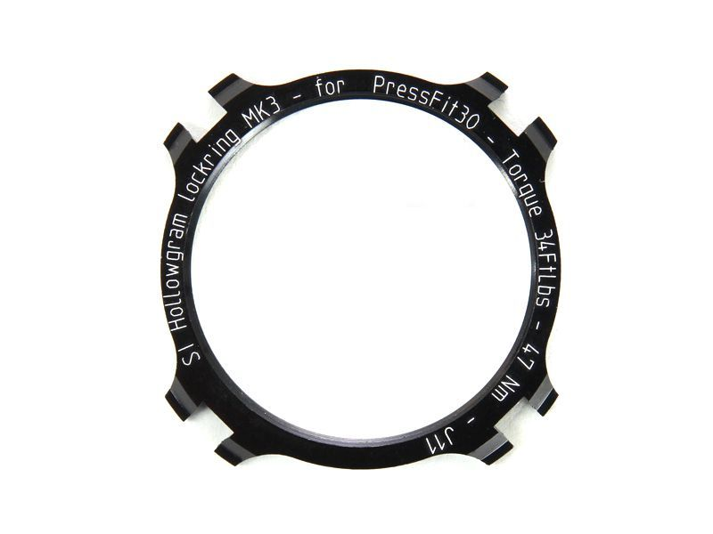 Écrou étoile Cannondale Hollowgram lockring KP021/ Noir