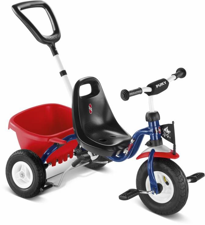 Tricycle Puky CAT 1L à pneus gonflables 2 ans Capt'n Sharky