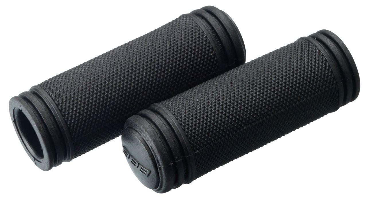 Poignées BBB TwistGrip 100/100 mm Kraton Noir - BHG-23G