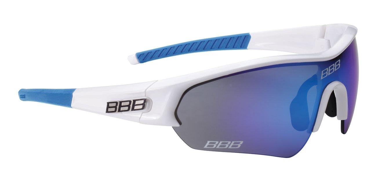 Lunettes Team BBB Select verre Revo bleu (blanc/bleu) - BSG-43T