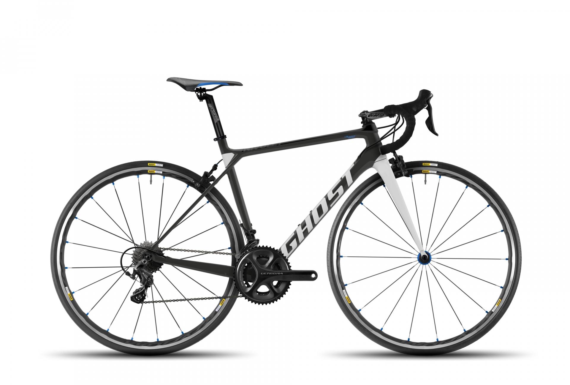 Vélo de route Ghost Nivolet 4 LC Titanium/Bleu - L