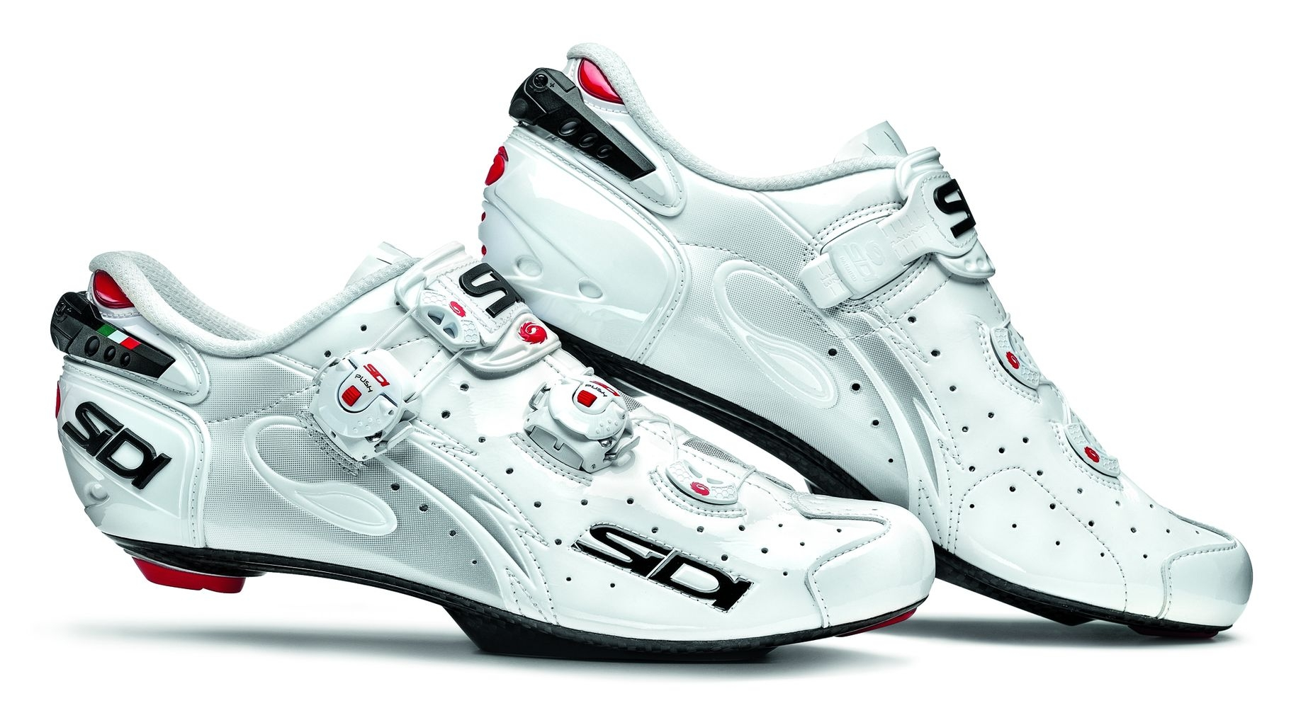 Chaussures Sidi WIRE Speedplay Carbon Vernice Blanc verni - 40,5
