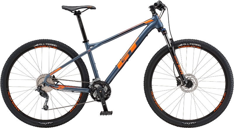 VTT GT Avalanche Comp AL Bleu/Orange - S / 27,5