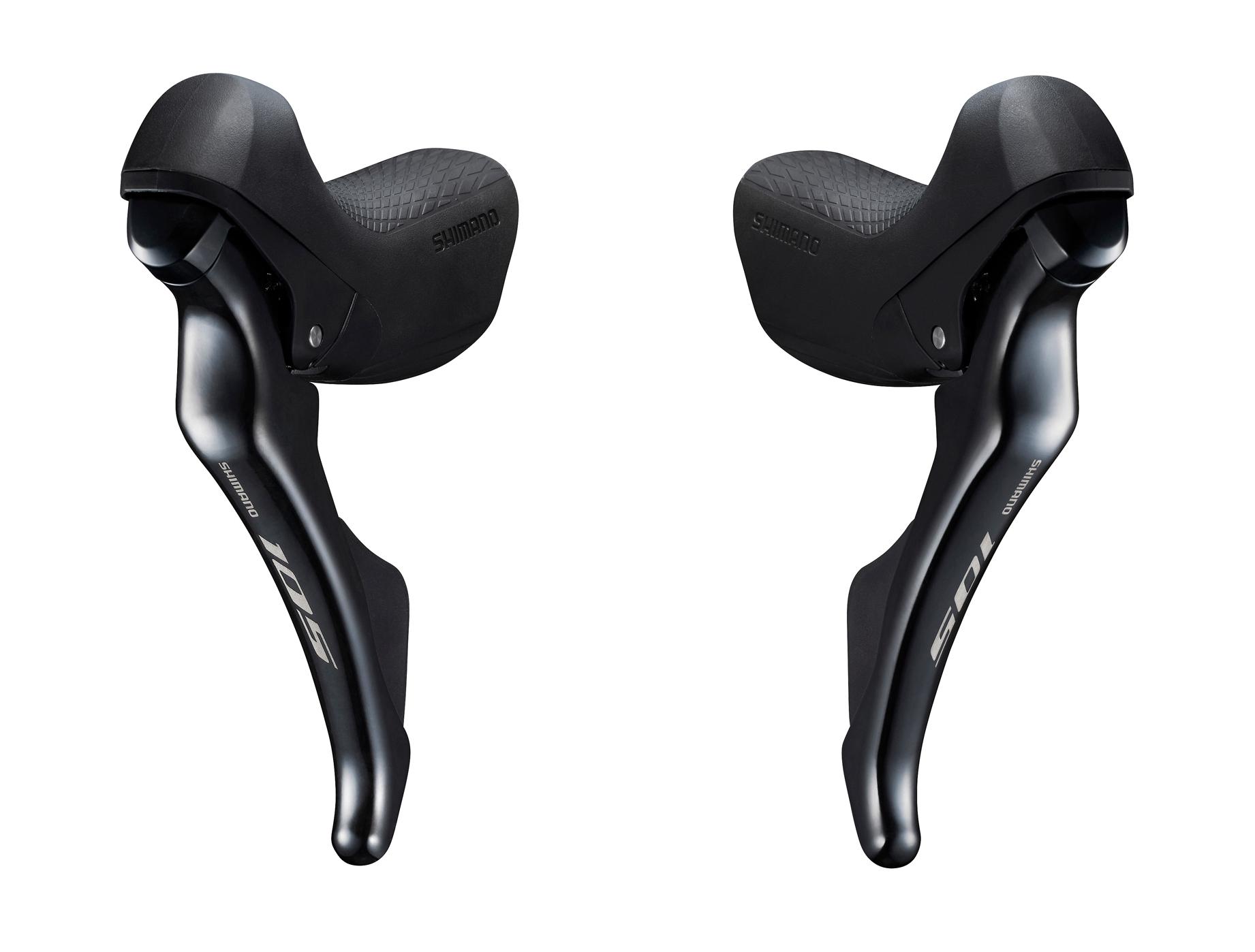 Levier/Manette de vitesses Shimano R7000 2x11V (Paire) Noir