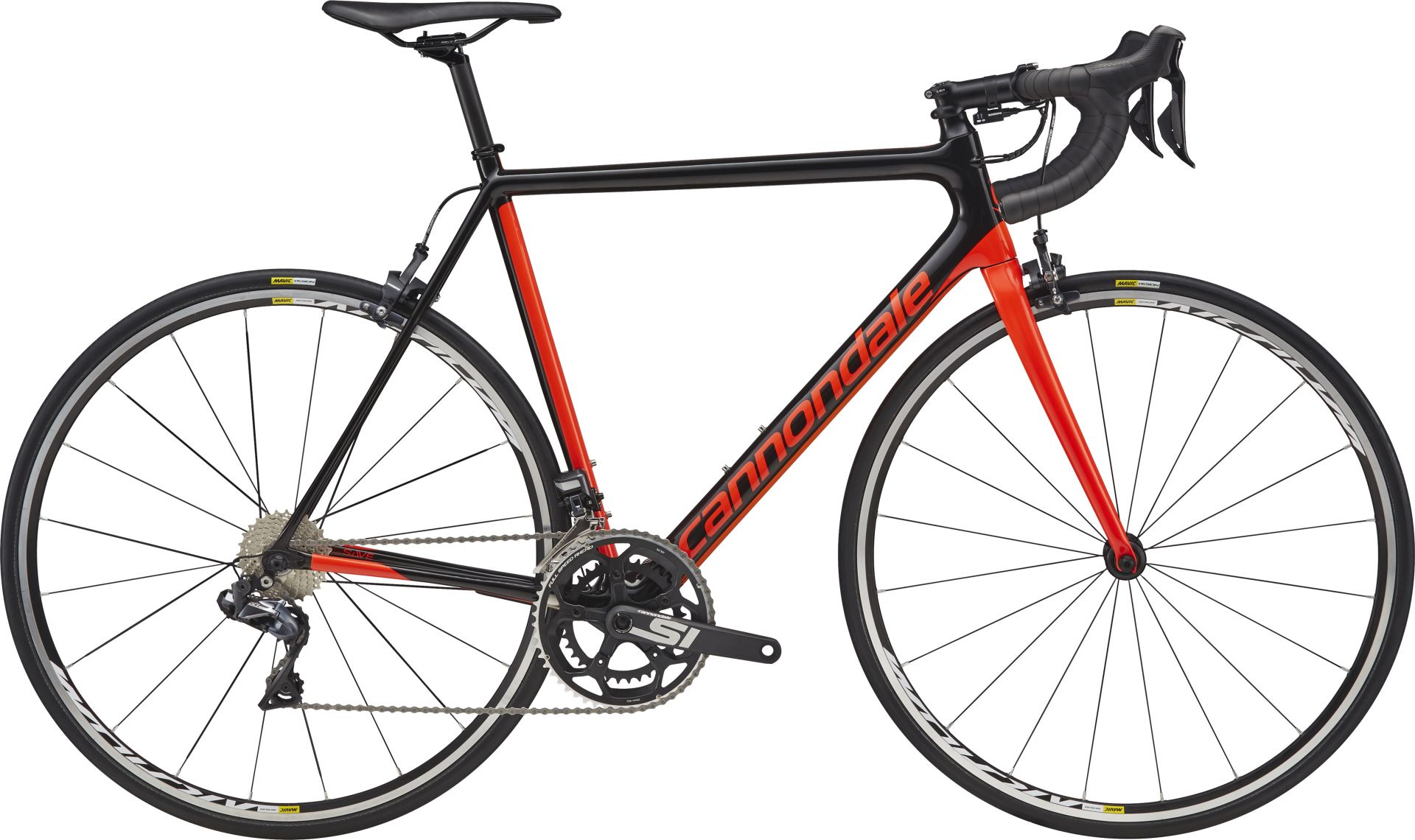 Vélo route Cannondale SuperSix Evo Ultegra Di2 Rouge - 54