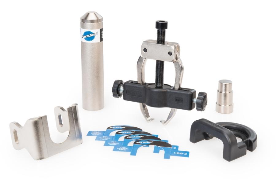 Kit Park Tool extracteur de roulements et manivelles Campa Ultra Torque / Power Torque - CBP-8