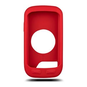 Housse de protection silicone Garmin Edge 1000 Rouge