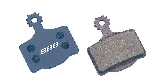Plaquettes BBB comp. Magura MT2/MT4/MT6/MT8 organiques - BBS-36