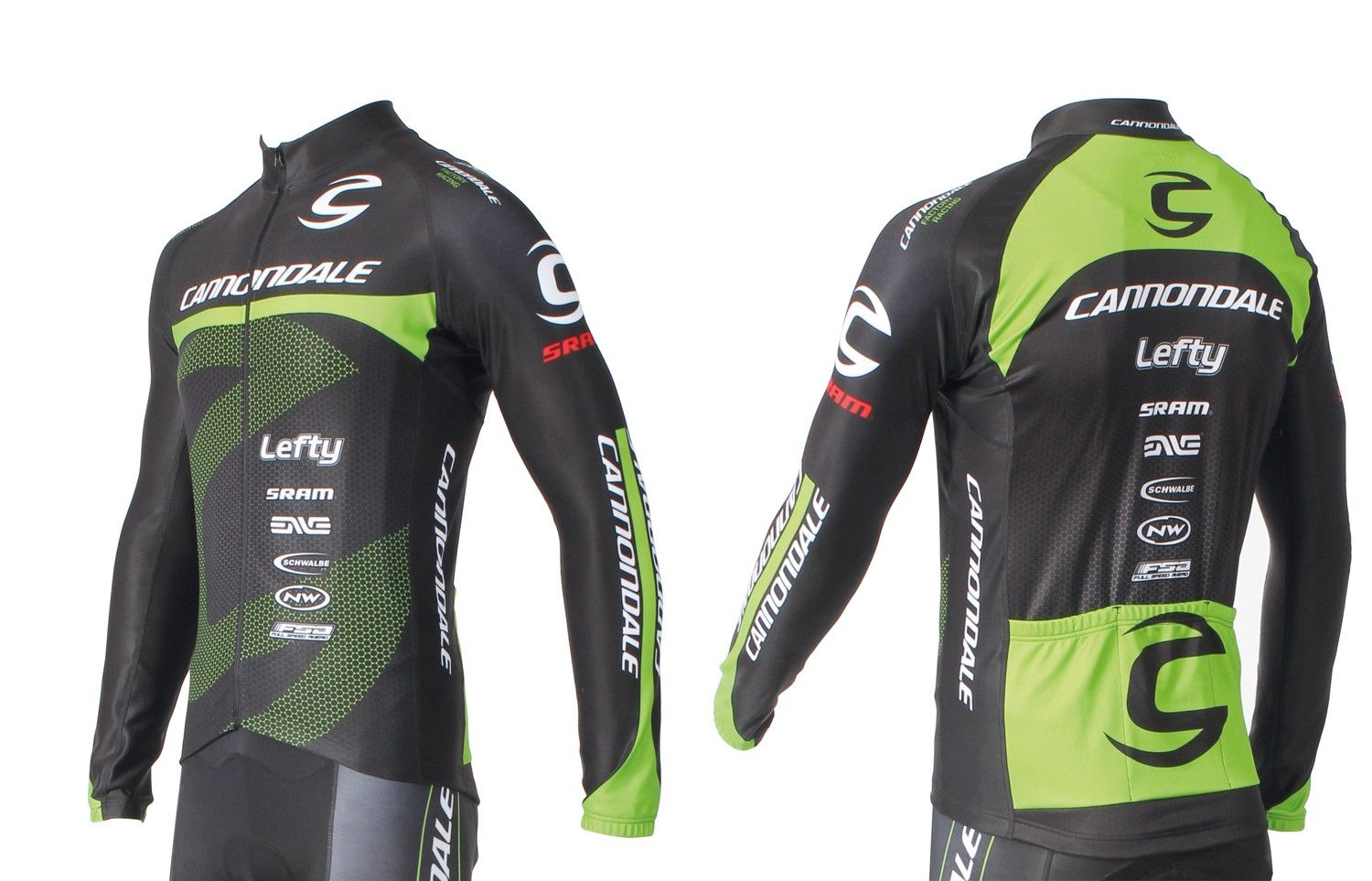 Maillot ML Cannondale CFR Long Sleeve Jersey - L