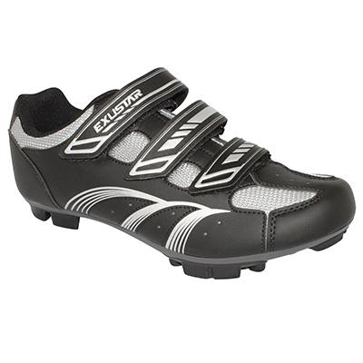 Chaussures VTT Exustar E-SM346 Noir/Gris - 43