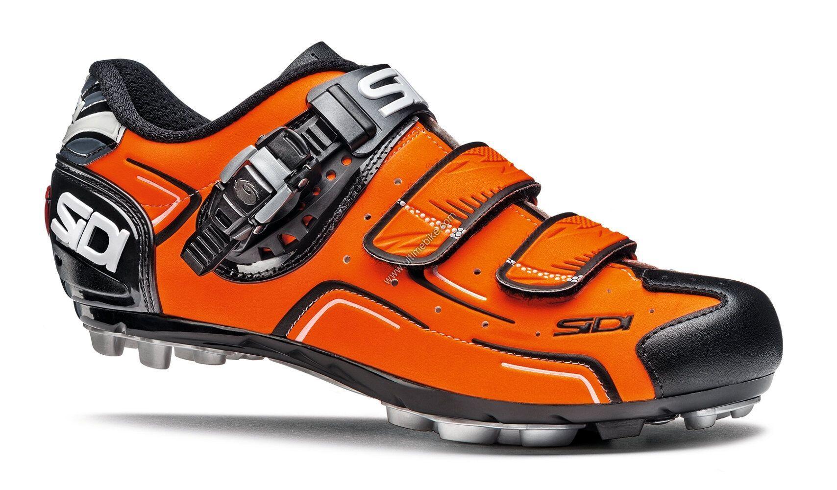 Chaussures Sidi MTB BUVEL Orange fluo/Noir - 38