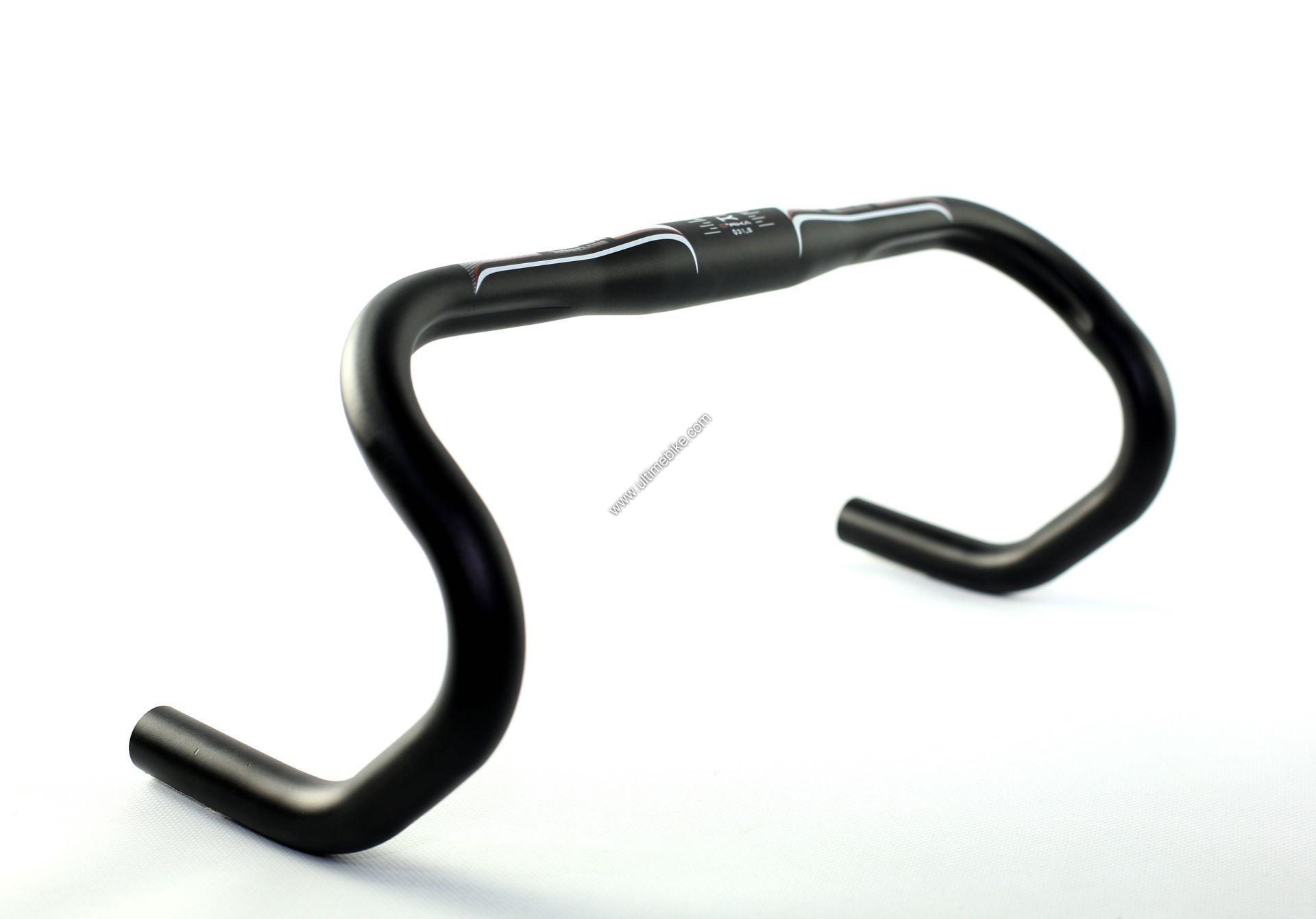 Cintre route ergonomique 40 cm alu noir