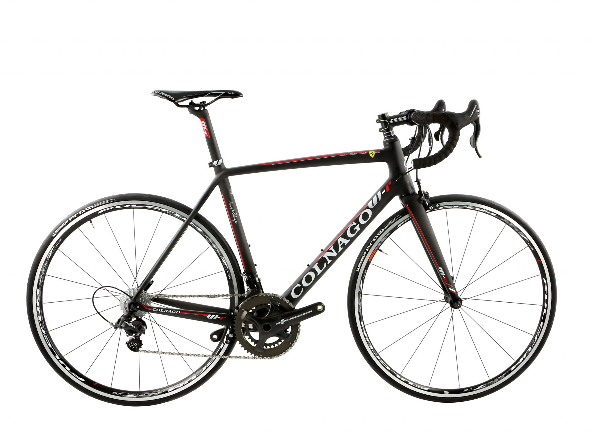 Vélo Colnago V1-r Campagnolo Chorus 11V Fulcrum Racing 7 (UNRD) - 520S
