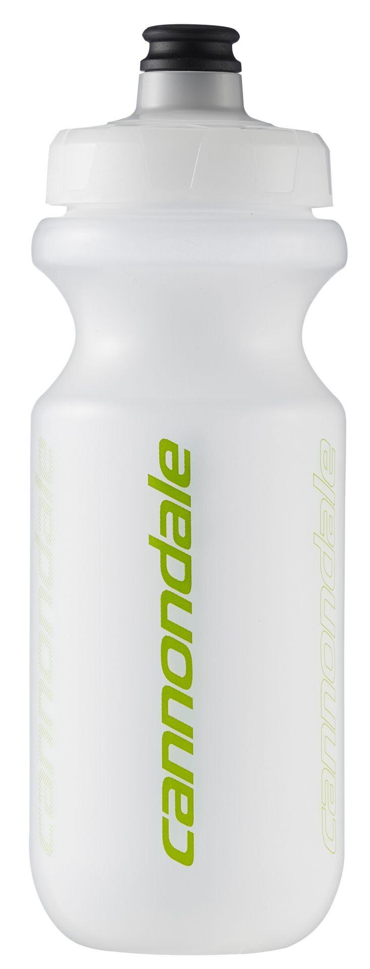Bidon Cannondale Logo Fade Trans 500 ml Transparent/Vert