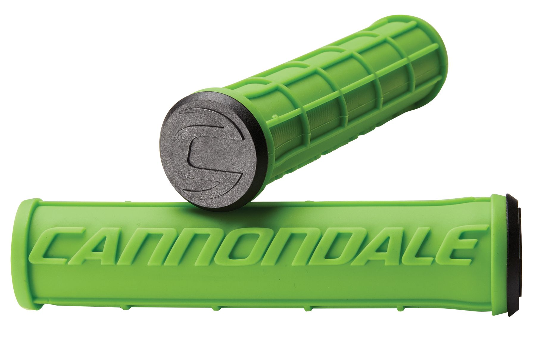 Poignées VTT Cannondale Silicone Logo Grip Vert