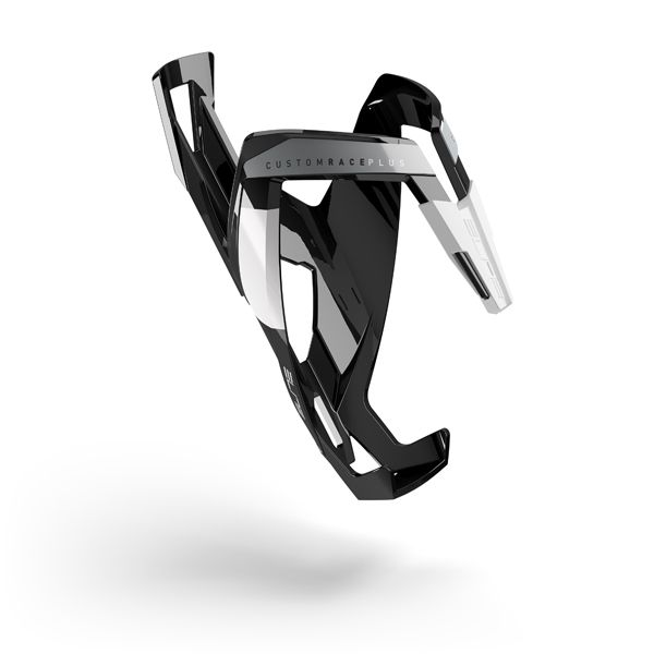 Porte-bidon Elite Custom Race Plus Noir/Blanc brillant