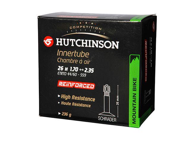Chambre à air Hutchinson renforcée 26 x 1.70/2.35 Schrader 32 mm