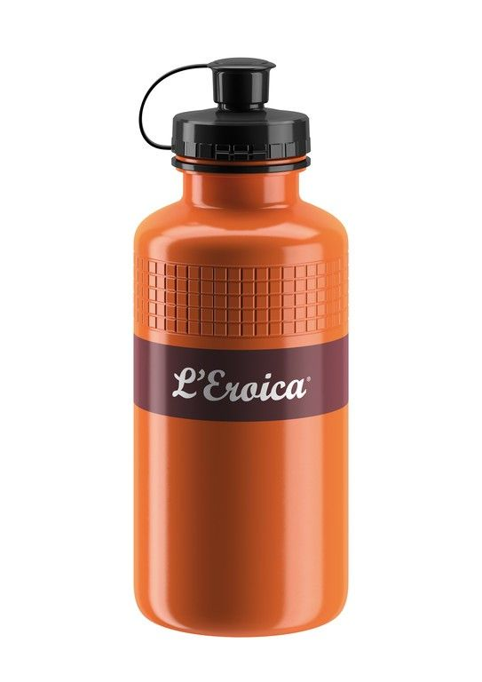 Bidon Elite L'Eroica Vintage 500 ml Marron