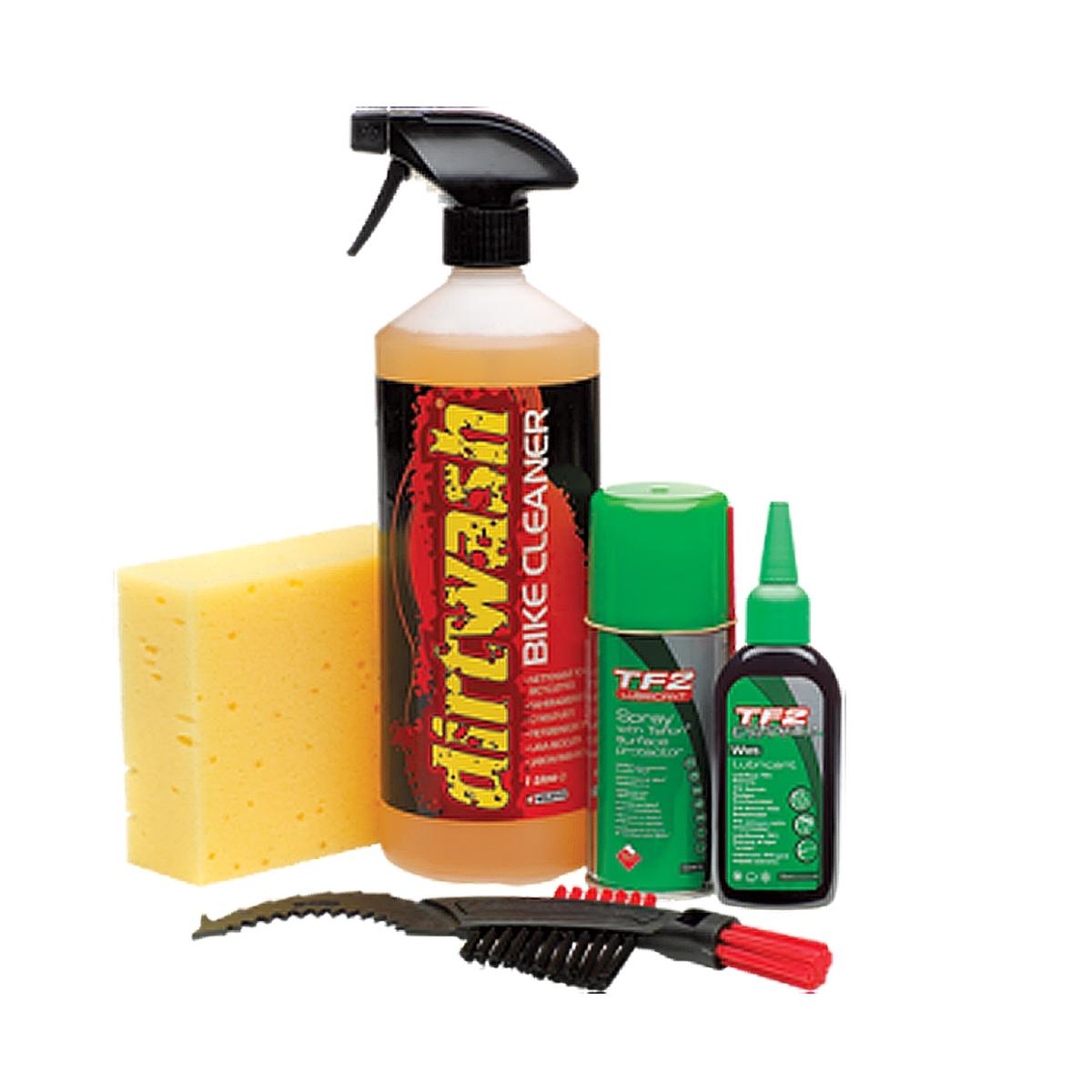 Kit de nettoyage Weldtite Conditions humides / Brosse / Lubrifiant / Nettoyant