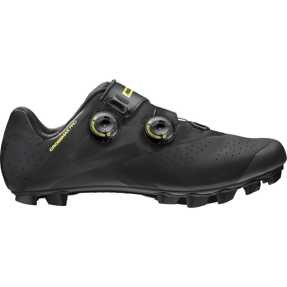 Chaussures VTT Mavic Crossmax Pro Noir/Jaune Mavic - 44