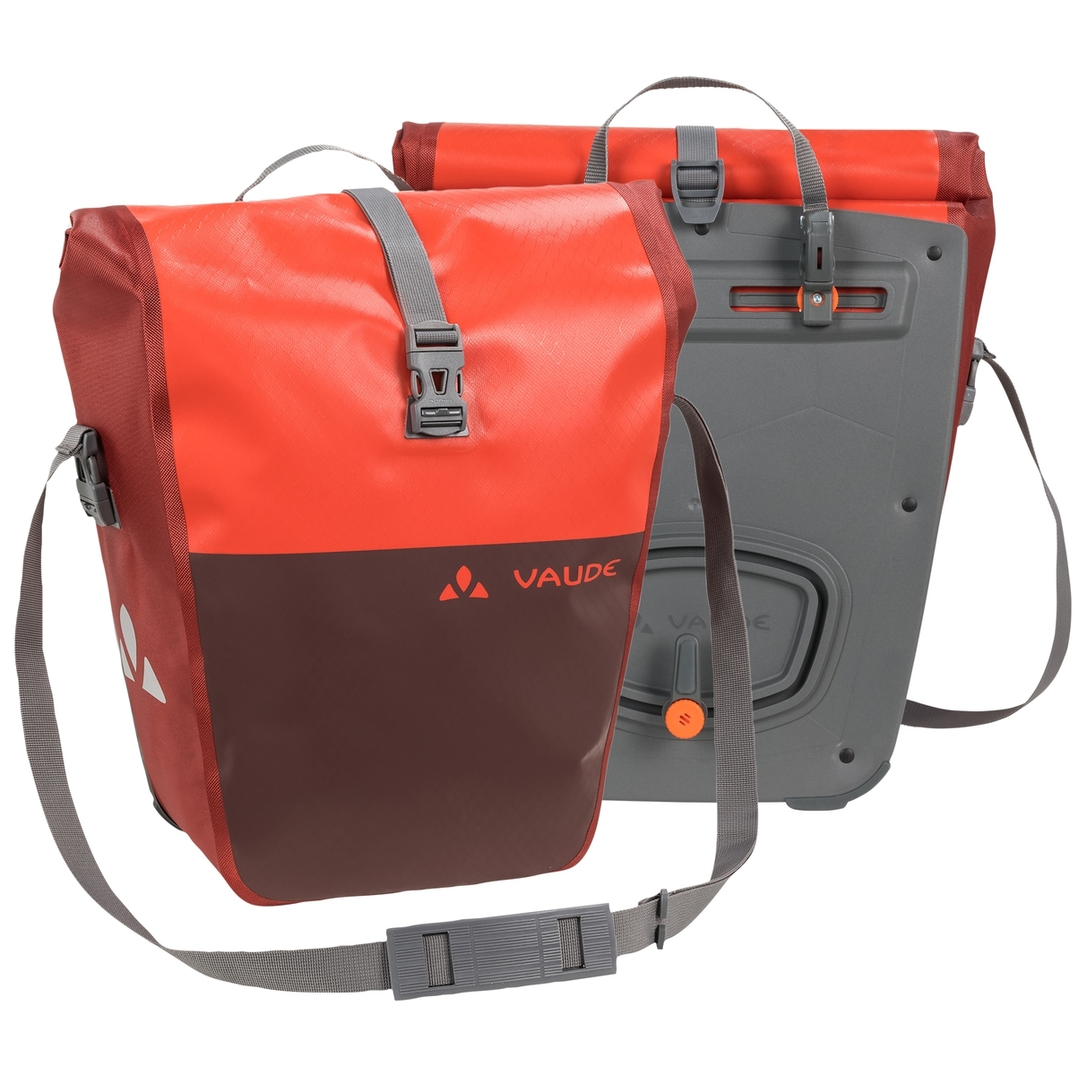 Sacoches porte-bagages Vaude Aqua Back Color 48 L Noir/Orange