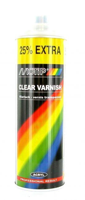 Bombe de peinture MoTip blanc très brillant 500 ml M4004