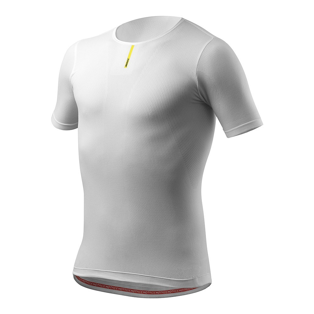 Maillot thermique Mavic Hot Ride manches courtes Blanc - XS/S