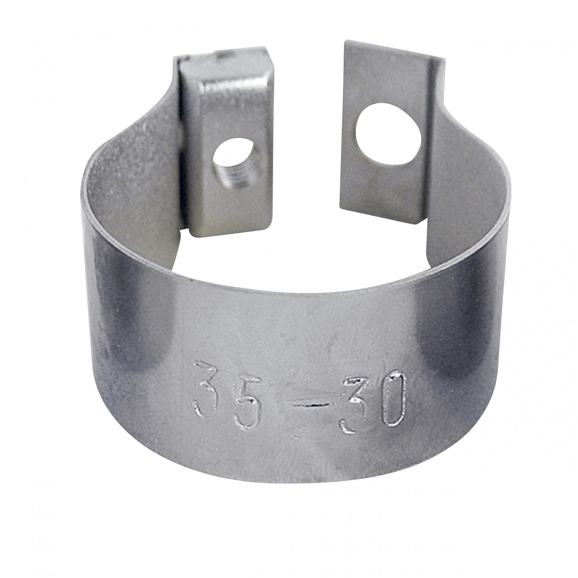 Collier-bague pour fixation de panier BASIL BasEasy II 31-35 mm