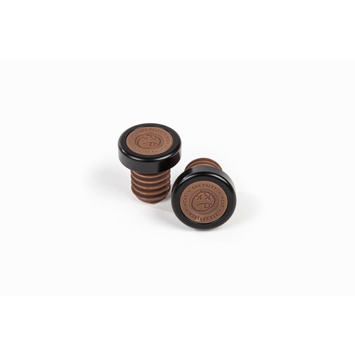 Embouts de poignées BMX BSD M-Cap Bar Ends Chocolate