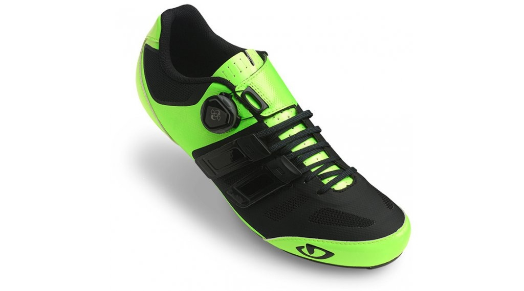 Chaussures route Giro Sentrie Techlace Jaune fluo/Noir - 43