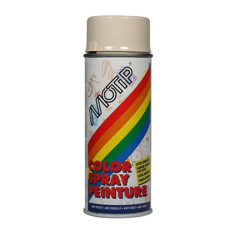 Bombe de peinture ivoire clair brillant RAL 1015 400 ml M01610