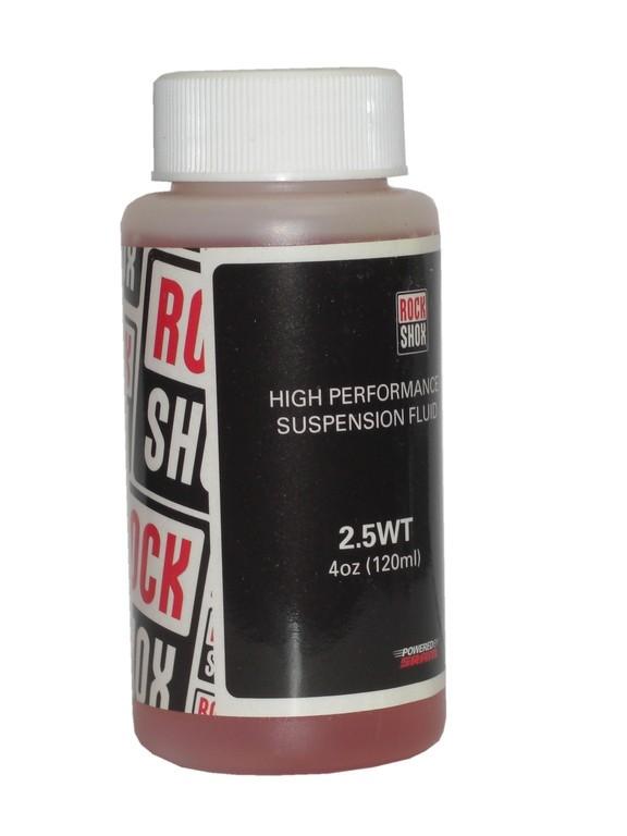 Huile fourche RockShox Pitstop Oil 2.5 WT (120 ml)