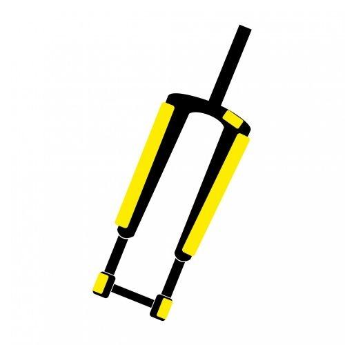 Protection adhésive 4&2 pour fourche RockShox RS-1 Mat