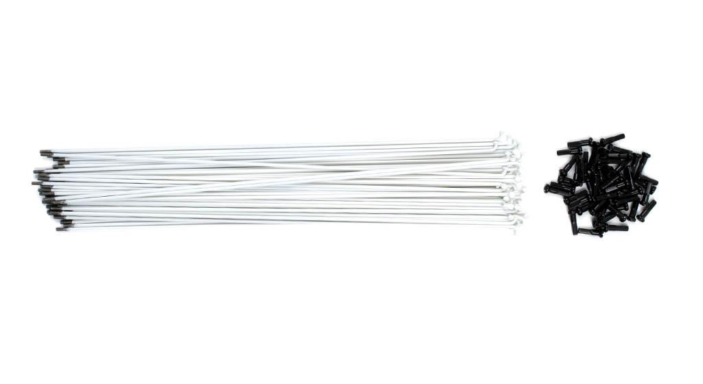 Pack de 40 rayons TSC blanc 186 mm