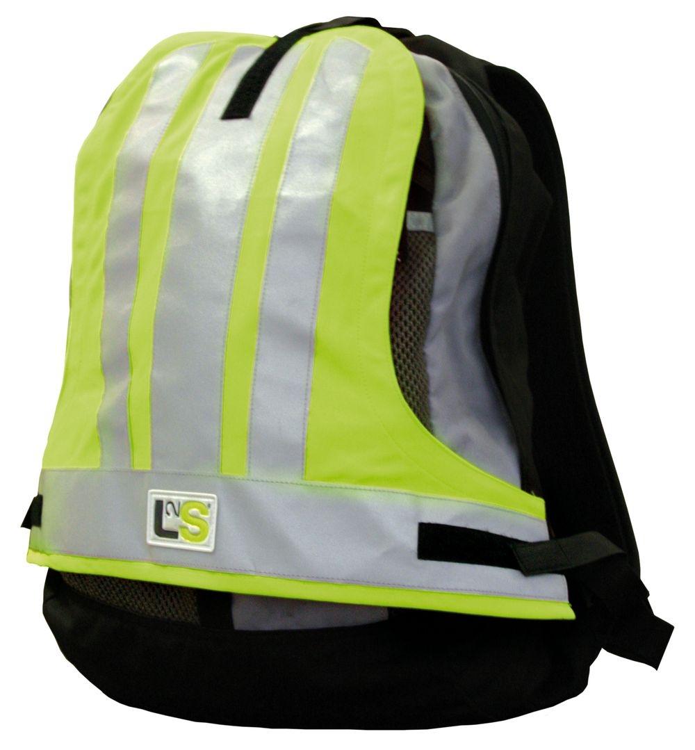 Couvre-sac sécurité L2S Visiobag Jaune fluorescent