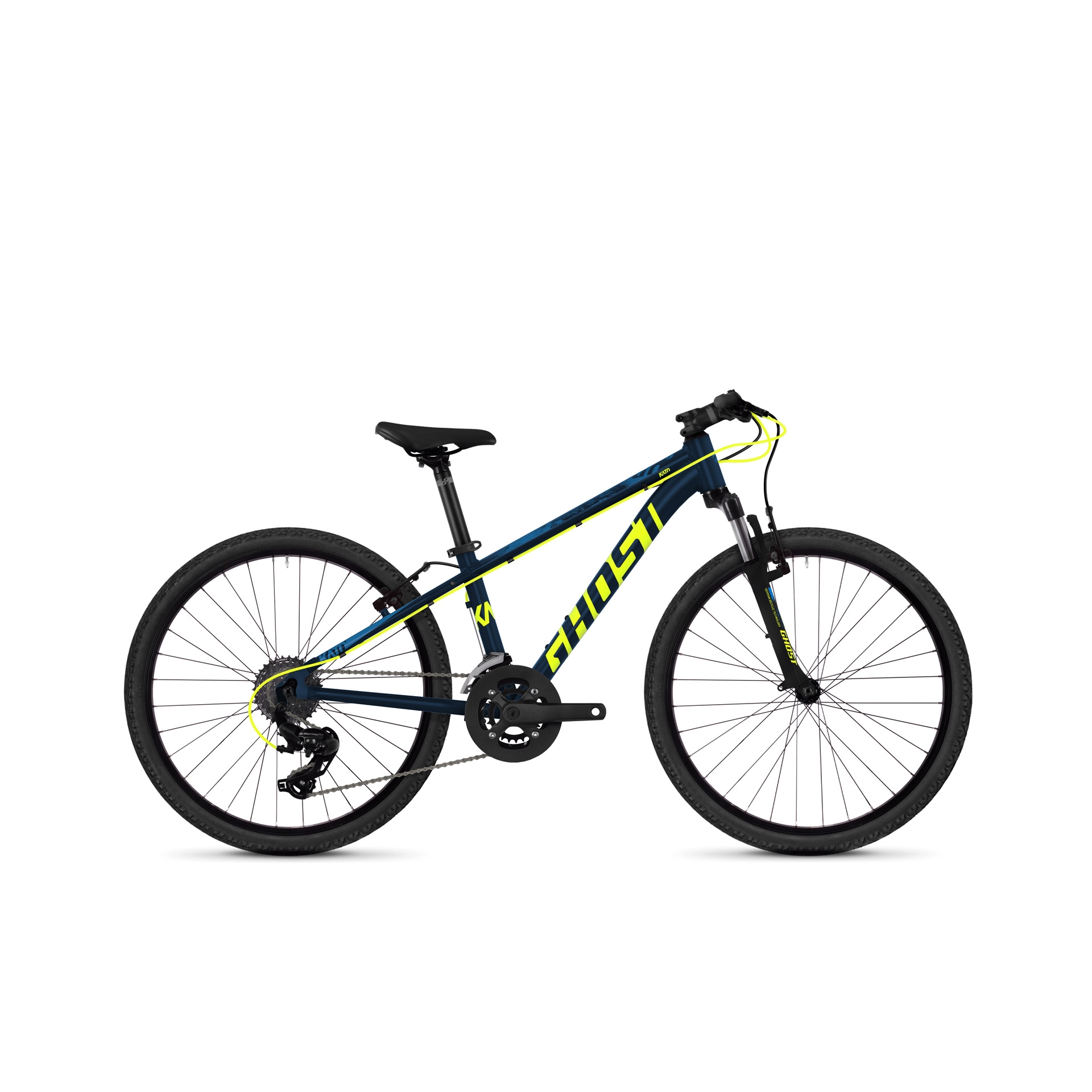VTT semi-rigide Ghost Kato Kid 2.4 24 Bleu/Jaune