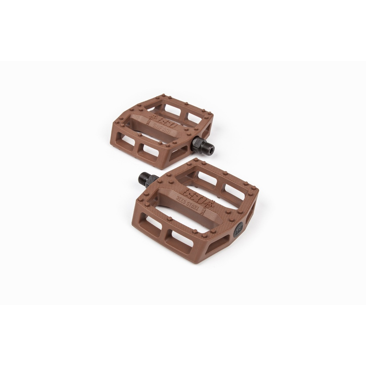 Pédales BMX BSD Safari Plastic Pedals Chocolate