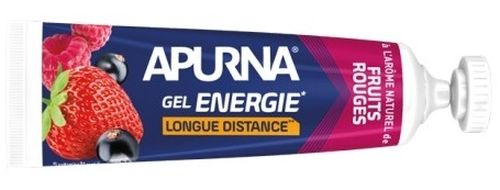 Gel énergie Longue Distance Apurna Fruits Rouges Tube 35 g