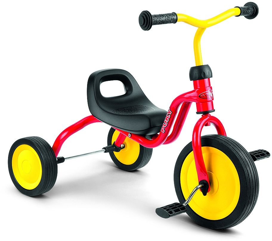 Tricycle PUKY Fitsch 1 an 1/2 Rouge