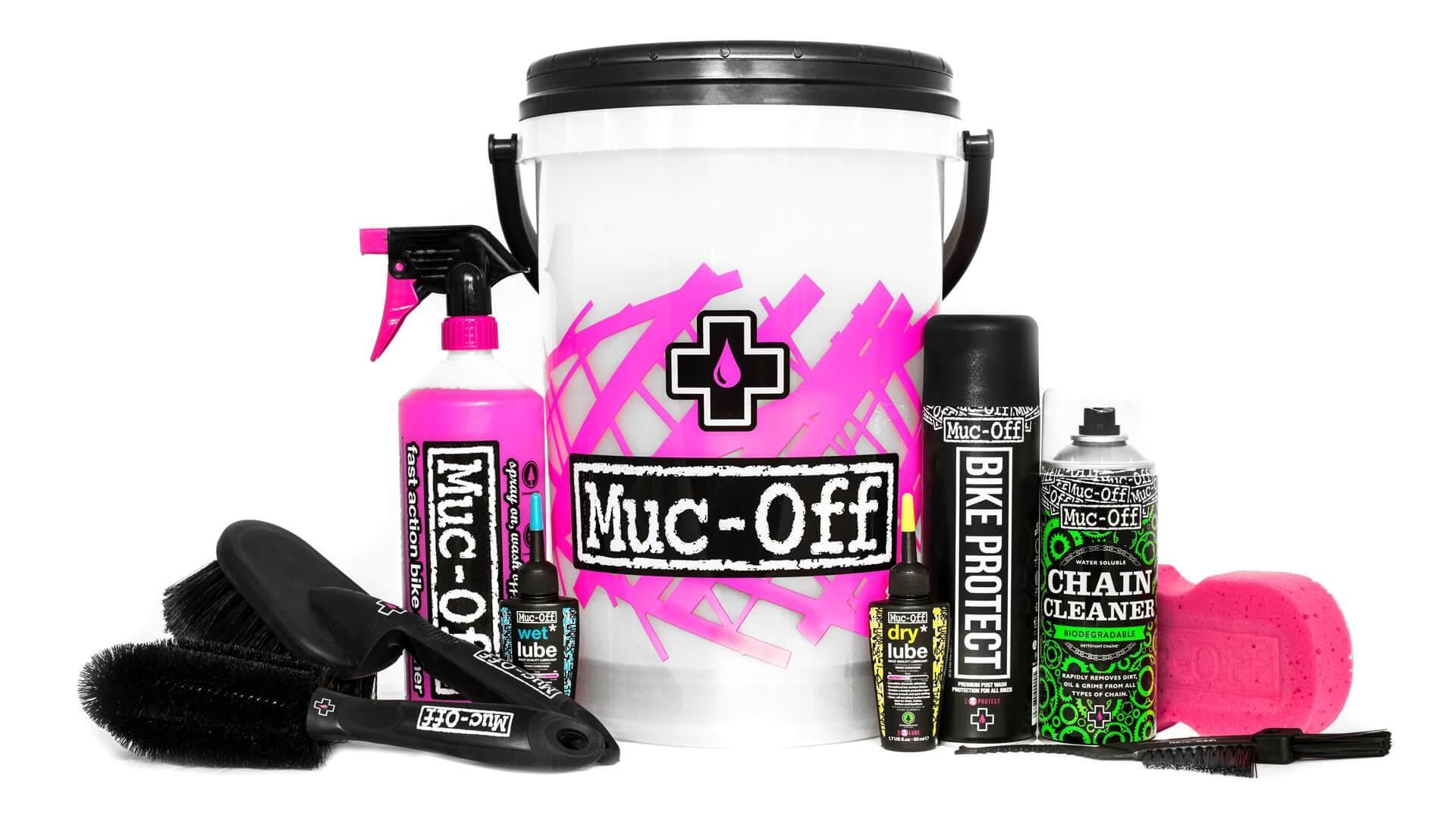 Kit nettoyage et entretien vélo Muc-Off Bucket Kit 13 litres