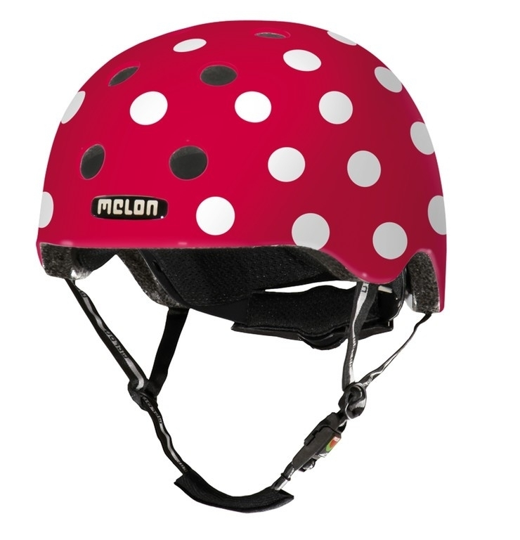 Casque Melon Urban Active Story Dotty White - Xl-XXL / 58-63 cm