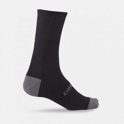 Chaussettes Giro HRc + Merino Wool Noir/Gris - M 40-42