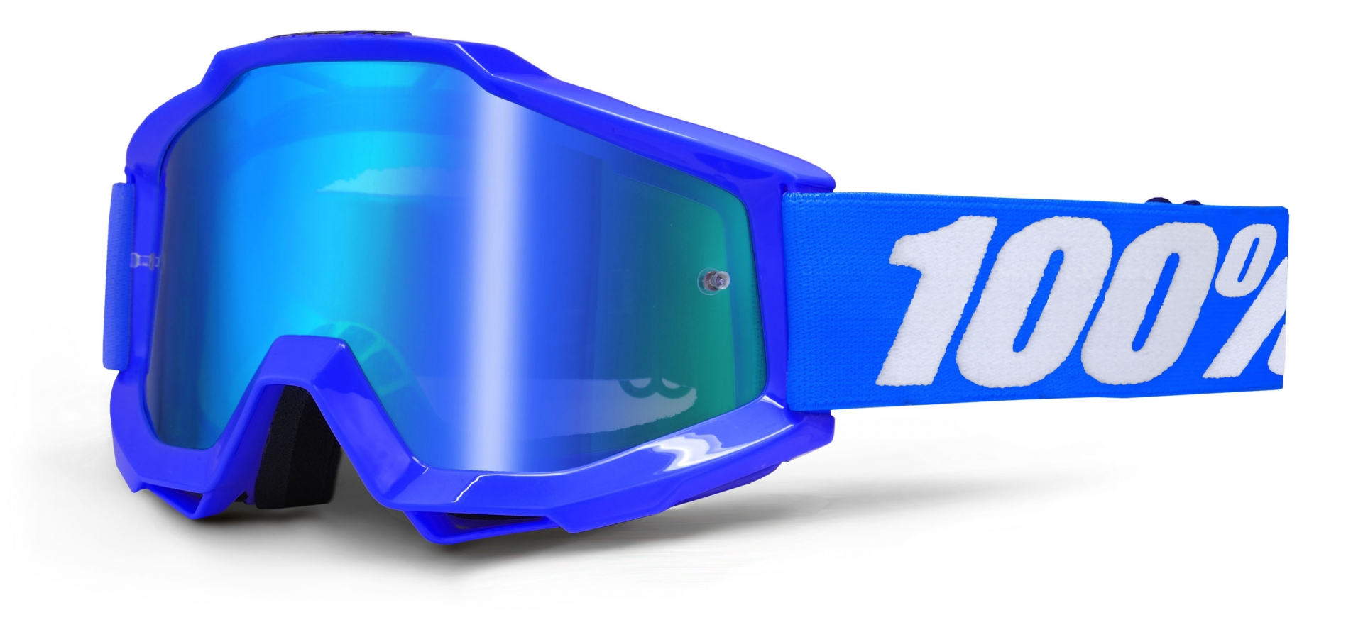 Masque 100% Accuri Reflex Blue écran miroir bleu (Bleu)