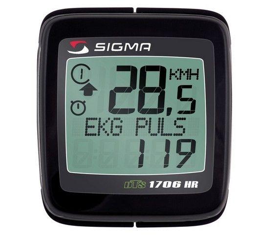 Compteur sans fil Sigma cardio-fréquencemètre BC 1706 HR