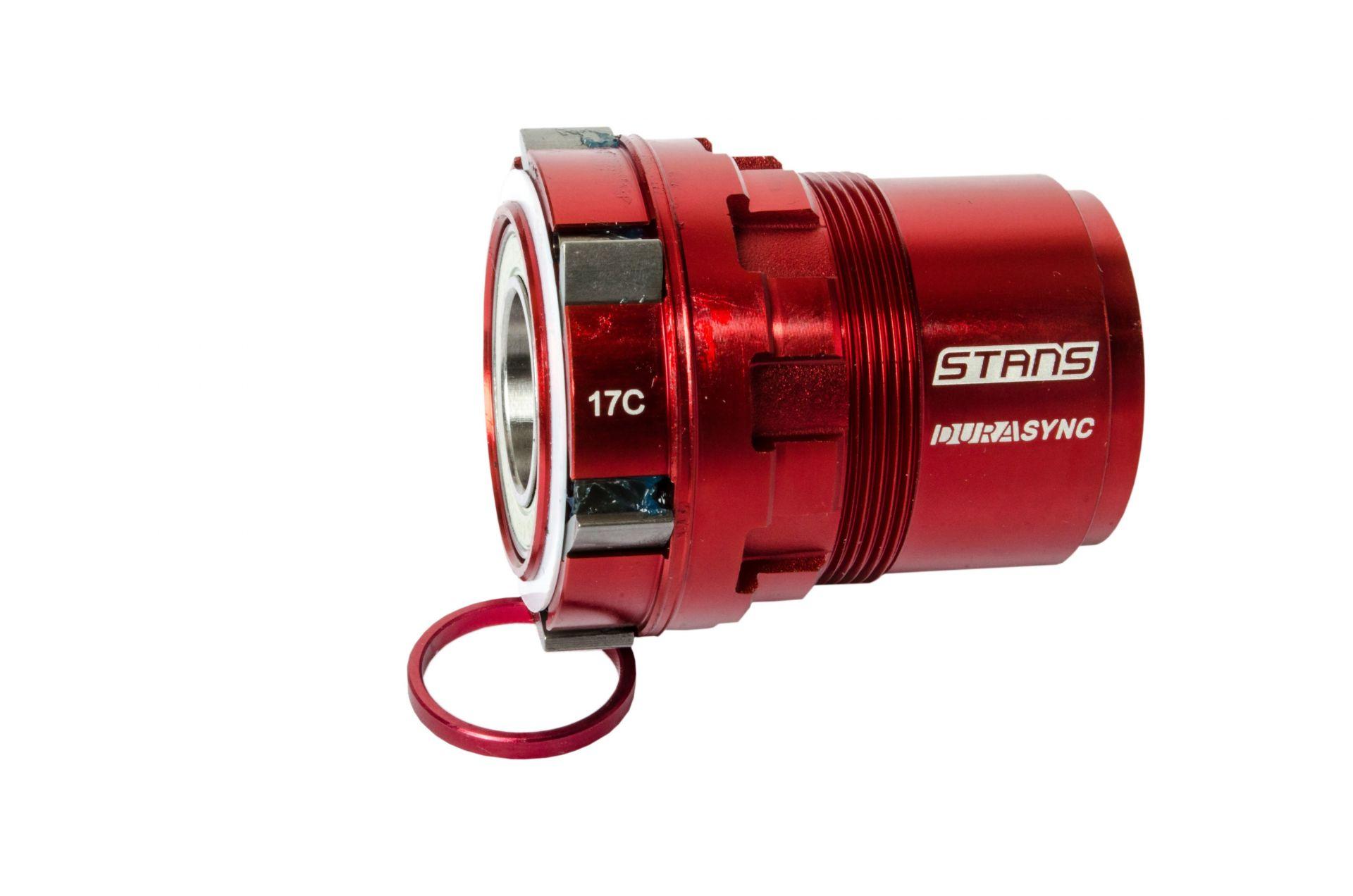 Corps de roue-libre ZTR moyeu Stan's Neo Durasync SRAM XD 11/12V Rouge