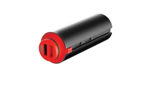 Batterie amovible Knog PWR moyenne capacité 5000 mAh Noir