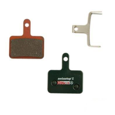 Plaquettes de frein 34 SwissStop Comp. Shimano / Tektro / TRP Métallisée