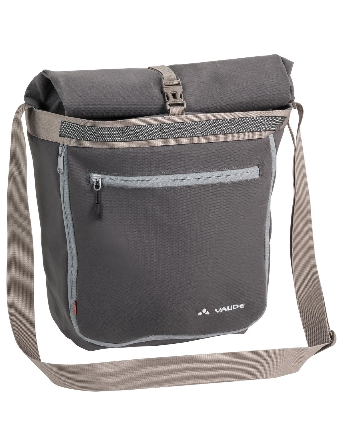 Sacoche porte-bagages Vaude ShopAir Back 38 L Noir Fantôme